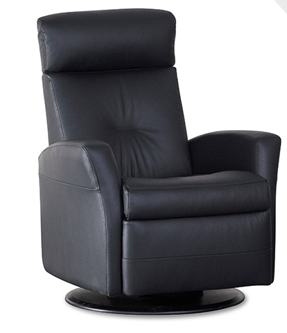 IMG Monza Glider Relaxer with Chaise.  Power & Swivel.