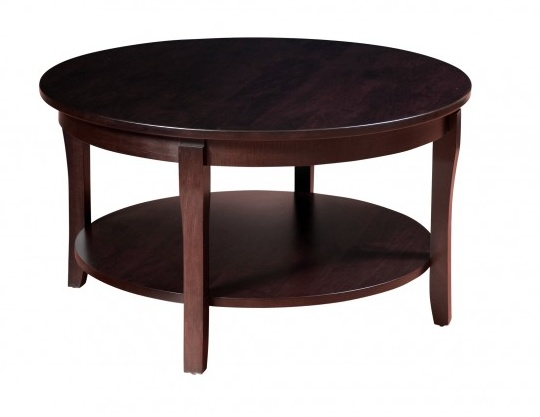 """Woodworks SOHO 36"""" Round Coffee Table"""