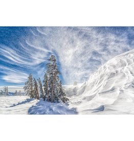 "Troy Corliss Photo-25""x40"" Vortex on Castle Peak"