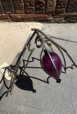 Troy Corliss Oregon Berry- steel & blown glass