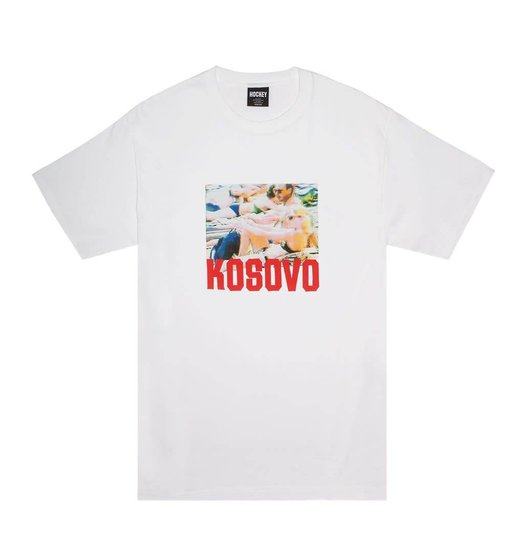 Hockey Hockey Kosovo Tee - White