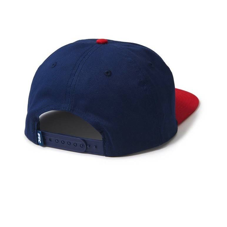 FTC FTC Field 6 Panel Hat - Navy/Red