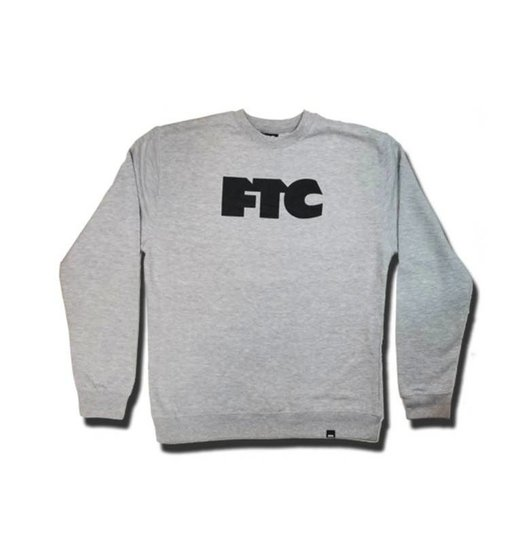 FTC FTC OG Crewneck -  Heather Grey