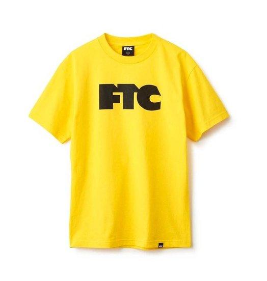 FTC FTC OG Logo Tee - Yellow