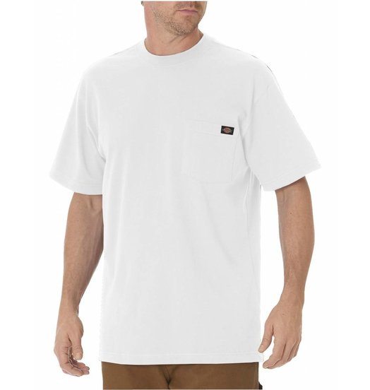 Dickies Dickies Heavyweight Pocket Crew Tee - White