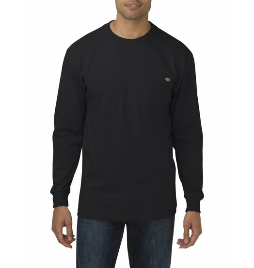 Dickies Dickies Heavyweight Pocket Longsleeve Tee - Black