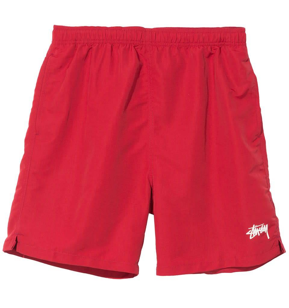 0bcc8675a09b Stussy Stussy Stock Water Short - Red - Ninetimes Skate Shop