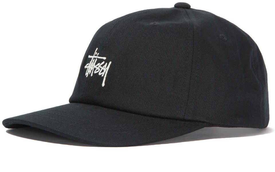 Stussy Stussy Stock Low Pro Cap - Black
