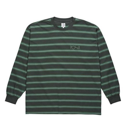 Polar Polar '91 Longsleeve - Grey Green