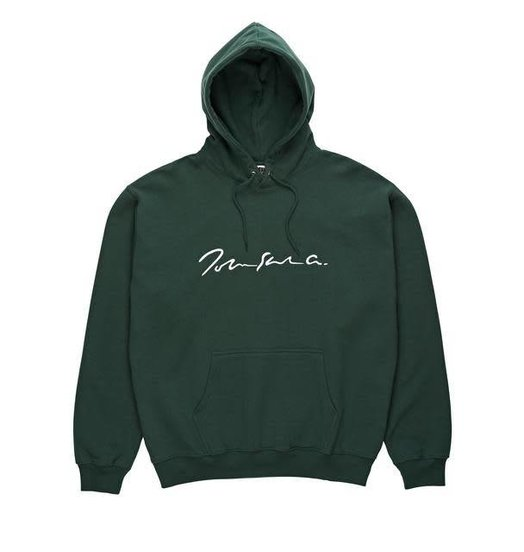 Polar Polar Signature Hoodie - Dark Green