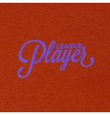 Alltimers Alltimers Puff Classic Logo Hoodie - Texas Orange