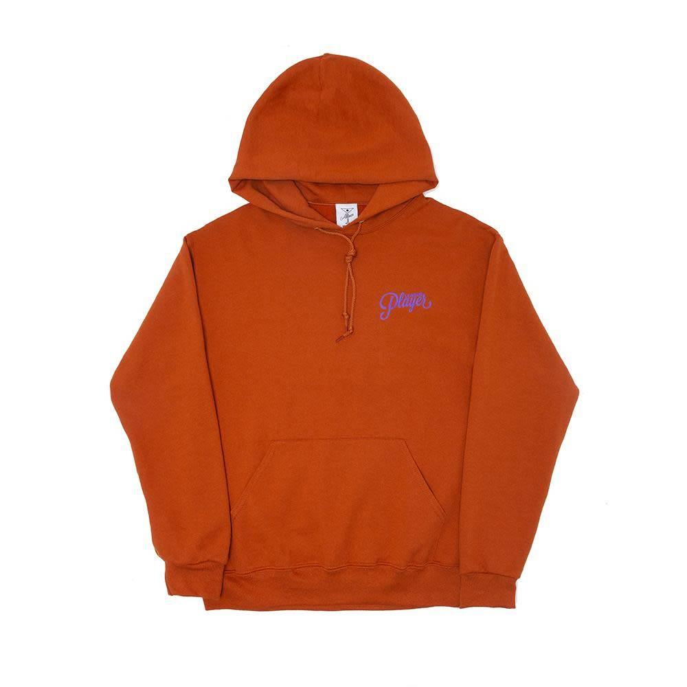 Alltimers Alltimers Puff Classic Logo Hoodie - Texas Orange
