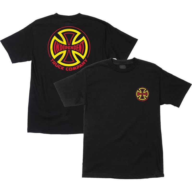 Independent Independent Two Tone Tee - Black