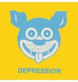Fucking Awesome Fucking Awesome Depression Tee - Daisy