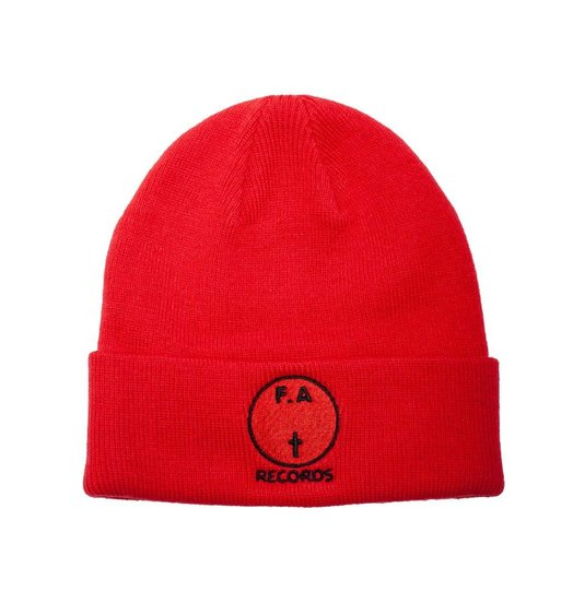 Fucking Awesome Fucking Awesome FA Records Beanie - Red