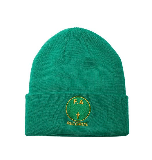 Fucking Awesome Fucking Awesome FA Records Beanie - Green