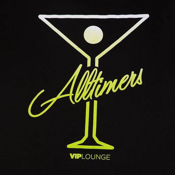 Alltimers Alltimers Puff Classic Logo Tee - Black