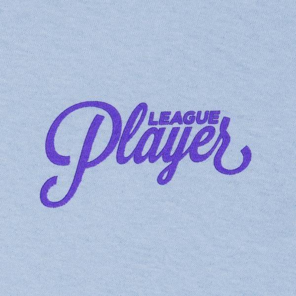 Alltimers Alltimers Puff Classic Logo Tee - Light Blue