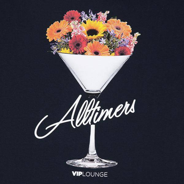Alltimers Alltimers Boquet Tee - Navy