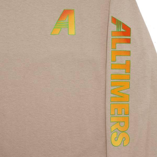 Alltimers Alltimers Artists Longsleeve Tee - Sand