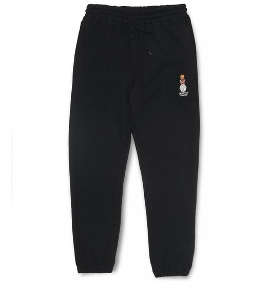 Quartersnacks Quartersnacks Embroidered Snackman Sweatpants - Black