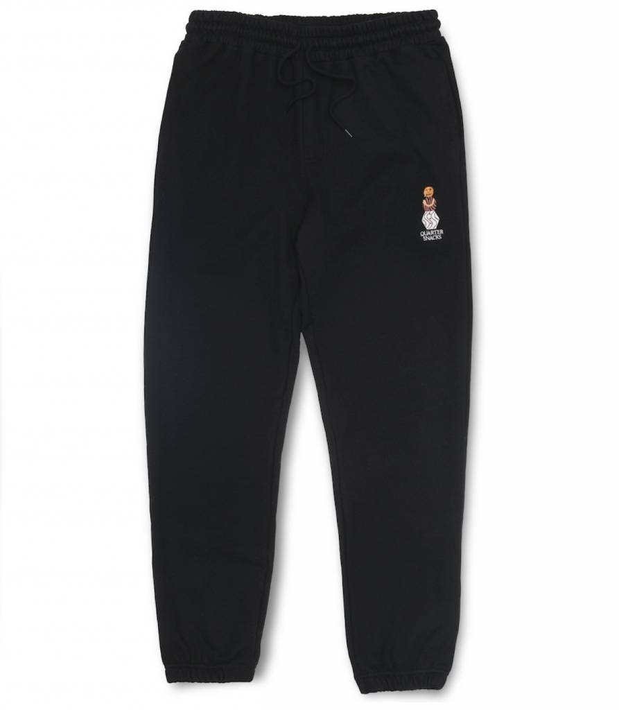 Quartersnacks Quartersnacks Embroidered Snackman Sweatpants - Black