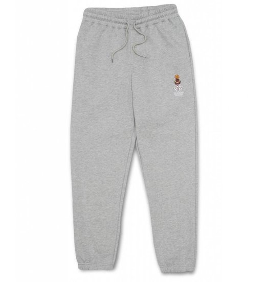 Quartersnacks Quartersnacks Embroidered Snackman Sweatpants - Heather Grey
