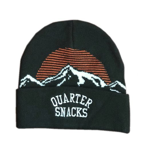 Quartersnacks Quartersnacks Mountain Beanie - Forest Green