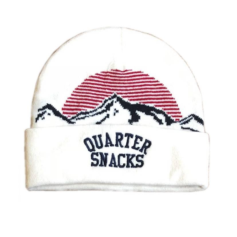 Quartersnacks Quartersnacks Mountain Beanie - Cream