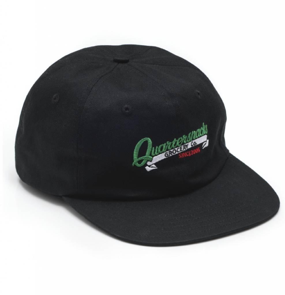 Quartersnacks Quartersnacks Grocery Cap - Black