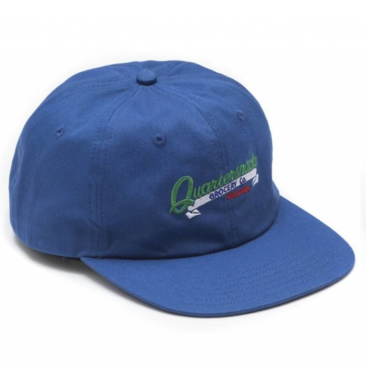 Quartersnacks Quartersnacks Grocery Cap - Royal Blue