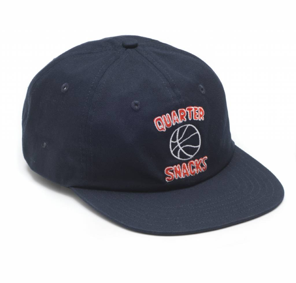 Quartersnacks Quartersnacks Ball Is Life Cap - Navy