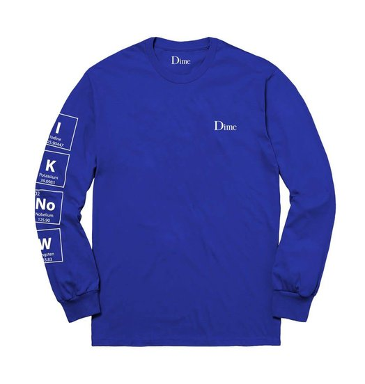 Dime Dime Knowing Longsleeve - Blue