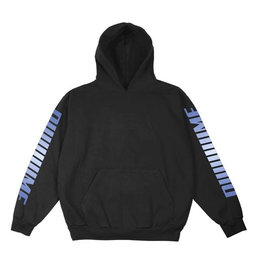 Dime Dime Screaming Hoodie - Black