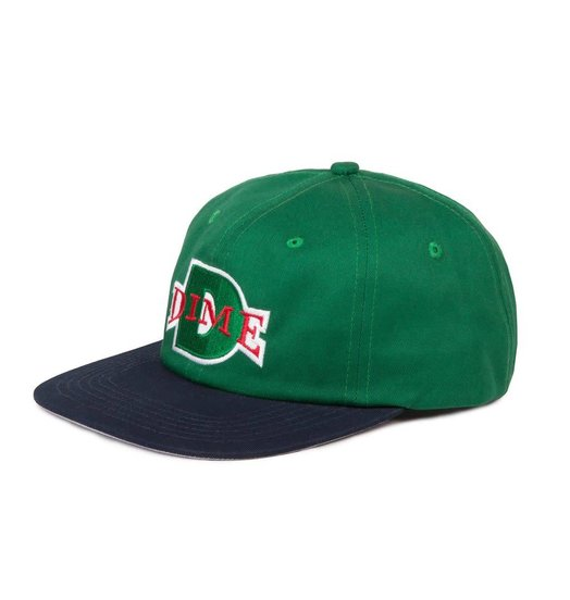 Dime Dime Ball Hat - Green & Navy