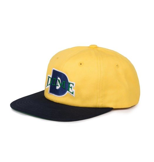 Dime Dime Ball Hat - Yellow & Navy