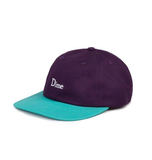 Dime Dime Classic 2-Tone Hat - Purple & Turquoise