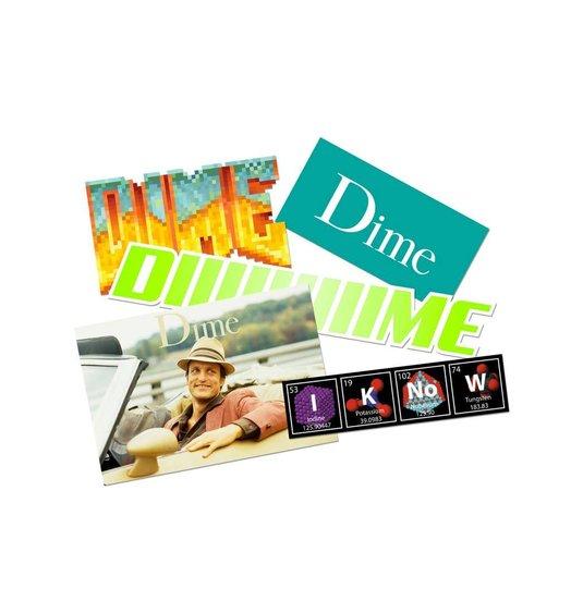 Dime Dime Sticker Pack - Fall 18 D2