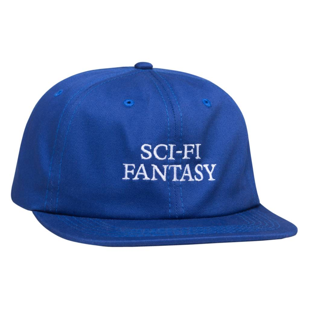 Sci-Fi Fantasy Sci-Fi Fantasy Logo Hat - Royal Blue/White