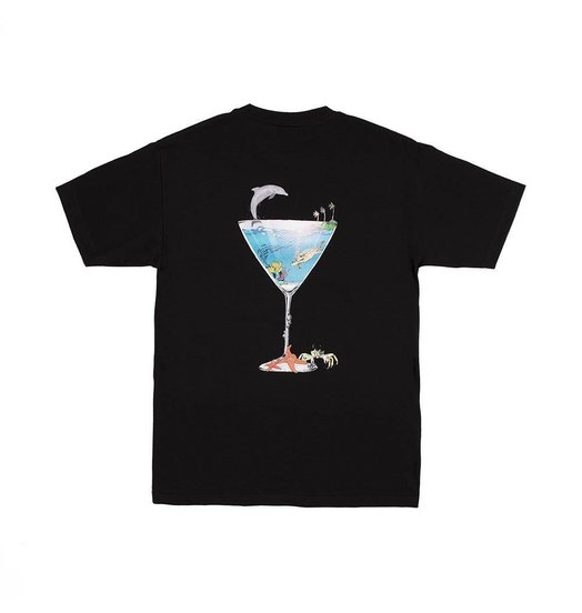 Alltimers Alltimers Tropical Fantasy Tee - Black