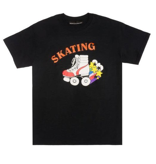 Call Me 917 Call Me 917 Skate Or Die Tee - Black