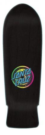 Santa Cruz Santa Cruz Roskopp Target 1 Reissue Deck - Black Stain