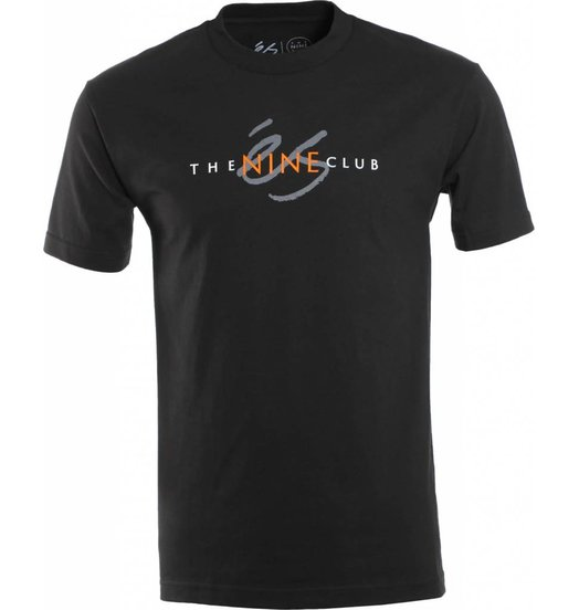 Es Es Nine Club Tee - Black