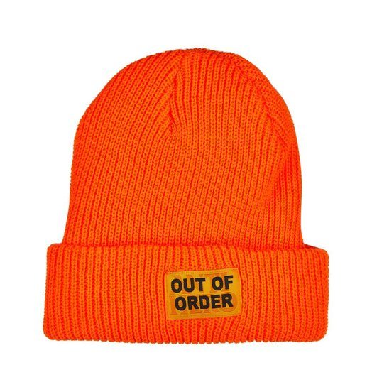 Antihero Antihero Out of Order Beanie - Safety Orange