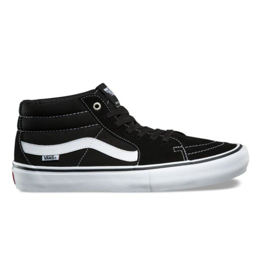 Vans Vans SK8 Mid Pro - Black/White