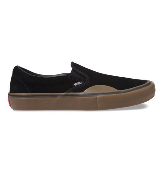 c7360d7e5a2431 Vans Vans Slip On Pro - (Rubber) Black Gum