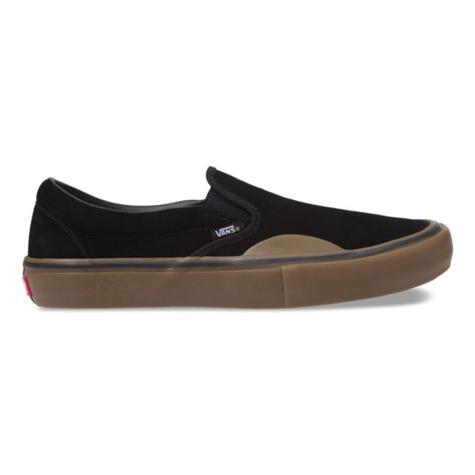 Vans Vans Slip On Pro - (Rubber) Black/Gum