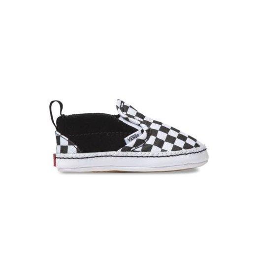 Vans Vans Slip On Crib - Black/Checker