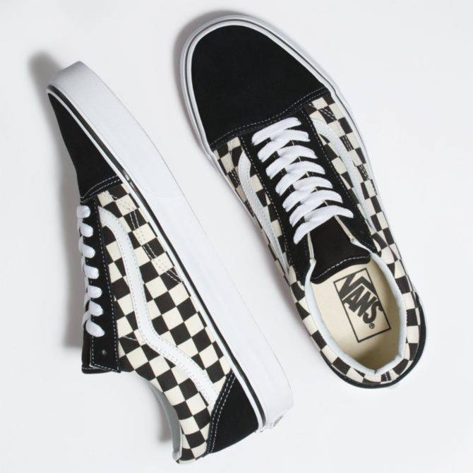 Vans Vans Old Skool - Primary Check Black/White