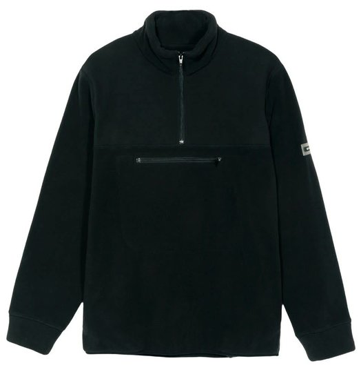 Stussy Stussy Polar Fleece Mock Neck - Black